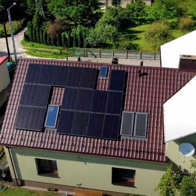 specsun.pl - realizacje z drona, fotowoltaika Olkusz, panele, solary, Dąbrowa Górnicza, Zederman